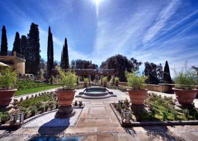 Italian Garden side