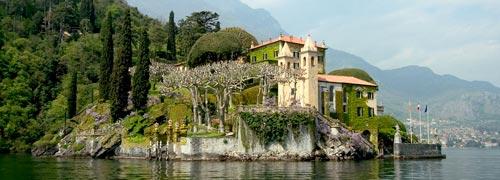 Star Wars Villa Lake Como